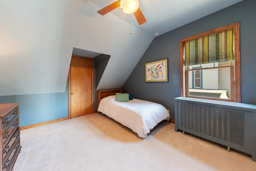 Real Estate Photography - 133 Barrypoint Rd, Riverside, IL, 60546 - 2nd Bedroom