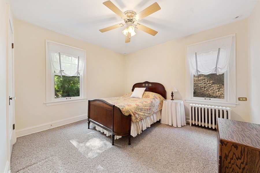 Real Estate Photography - 133 Barrypoint Rd, Riverside, IL, 60546 - 4th  Bedroom - First Floor