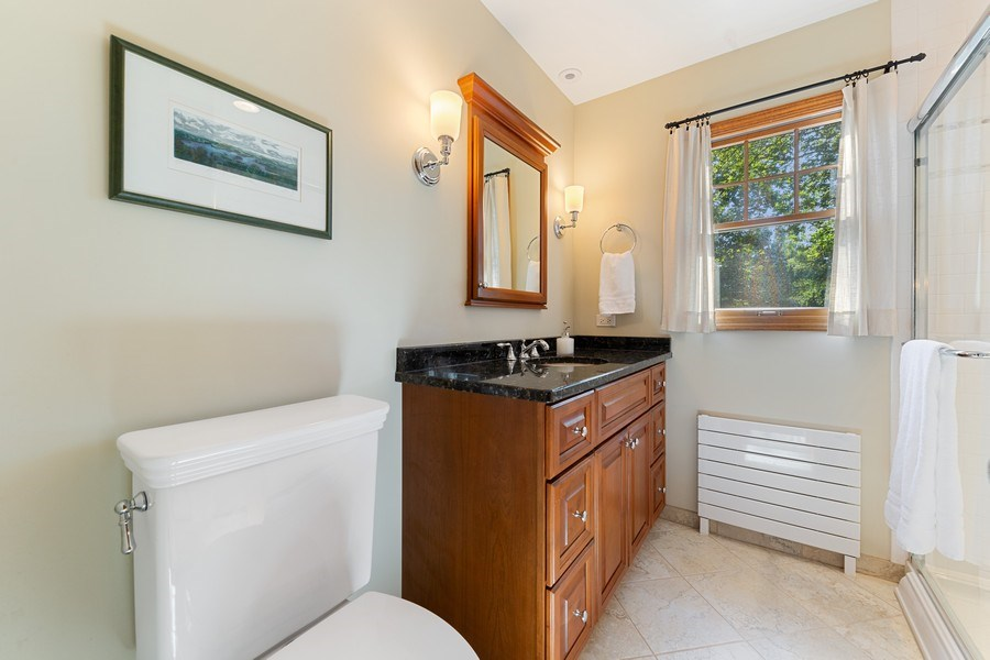 Real Estate Photography - 133 Barrypoint Rd, Riverside, IL, 60546 - 2nd Full Bath - Second Story
