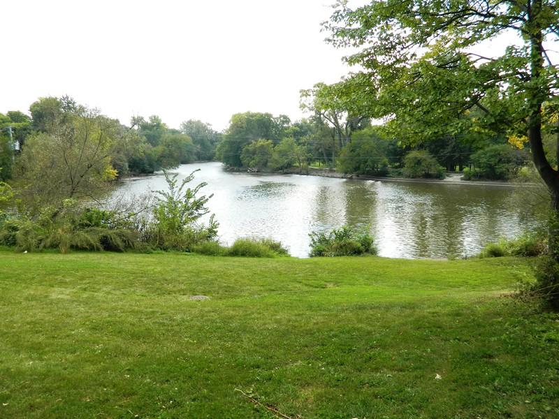 Real Estate Photography - 133 Barrypoint Rd, Riverside, IL, 60546 - Riverside Swan Pond - Desplaines River