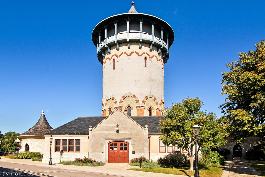 Real Estate Photography - 133 Barrypoint Rd, Riverside, IL, 60546 - Riverside Water Tower