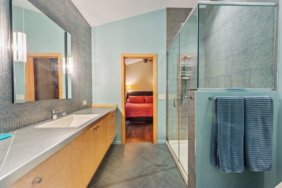 Real Estate Photography - 3 Wood Rock Rd, Barrington Hills, IL, 60010 - Master Bathroom