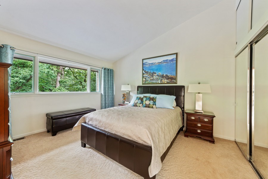 Real Estate Photography - 3 Wood Rock Rd, Barrington Hills, IL, 60010 - 3rd Bedroom