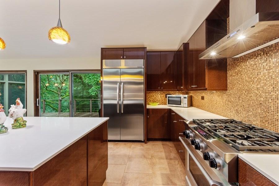 Real Estate Photography - 3 Wood Rock Rd, Barrington Hills, IL, 60010 - Kitchen