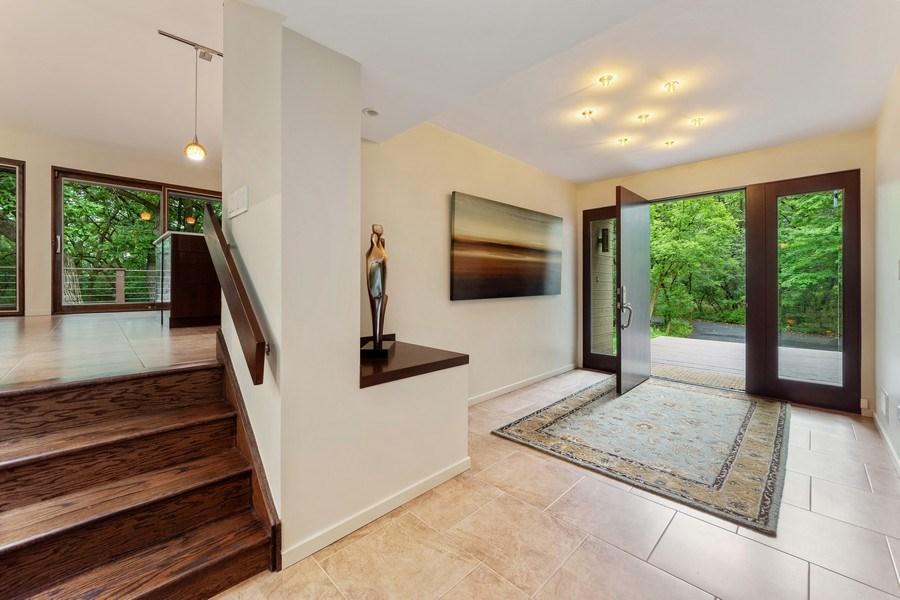 Real Estate Photography - 3 Wood Rock Rd, Barrington Hills, IL, 60010 - Foyer