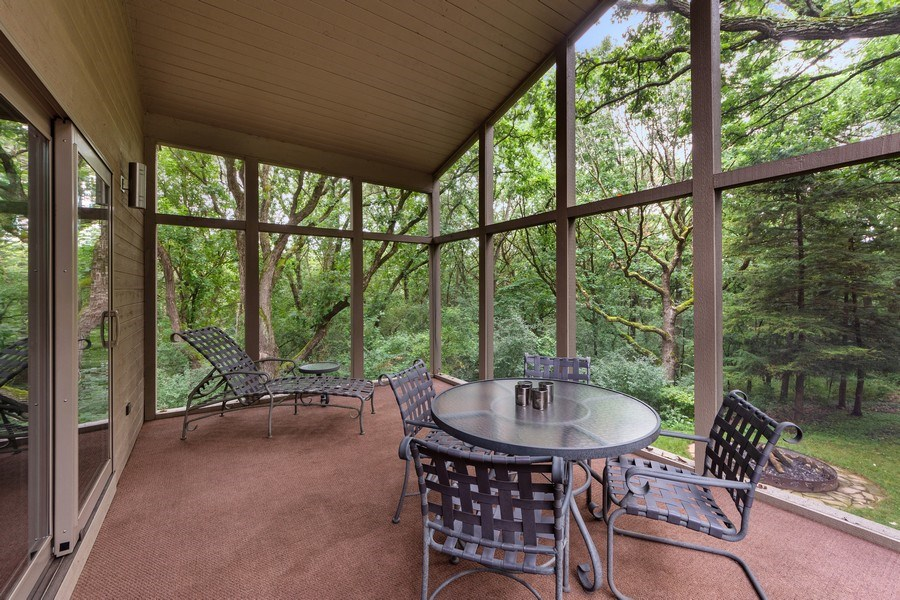 Real Estate Photography - 3 Wood Rock Rd, Barrington Hills, IL, 60010 - Porch
