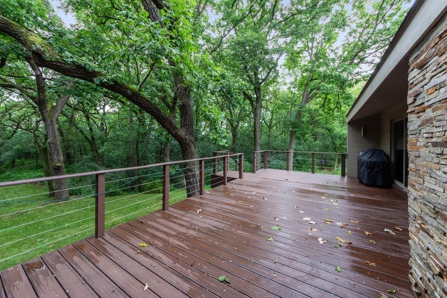 Real Estate Photography - 3 Wood Rock Rd, Barrington Hills, IL, 60010 - Deck