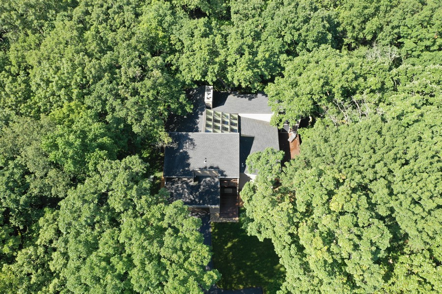 Real Estate Photography - 3 Wood Rock Rd, Barrington Hills, IL, 60010 - Aerial View