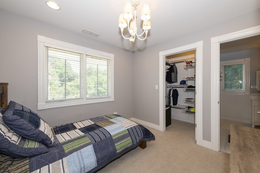 Real Estate Photography - 423 Taylor Avenue, Glen Ellyn, IL, 60137 - Bedrooms get great light!