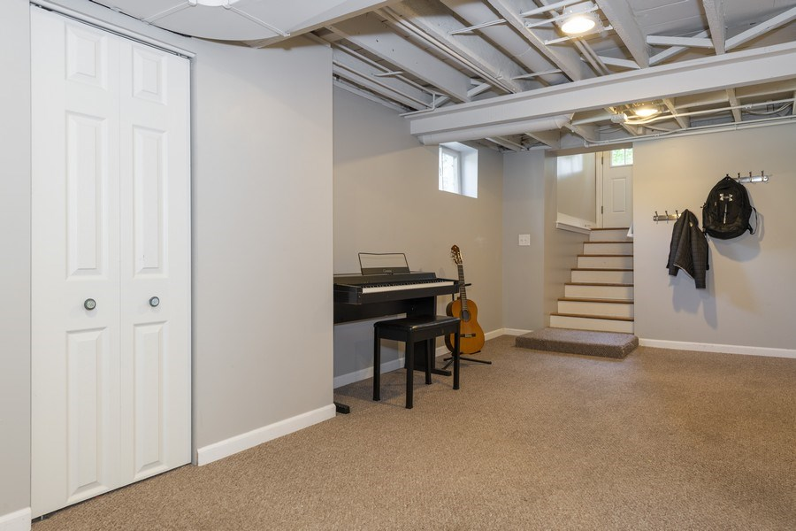 Real Estate Photography - 423 Taylor Avenue, Glen Ellyn, IL, 60137 - Basement easily accessed from patio.