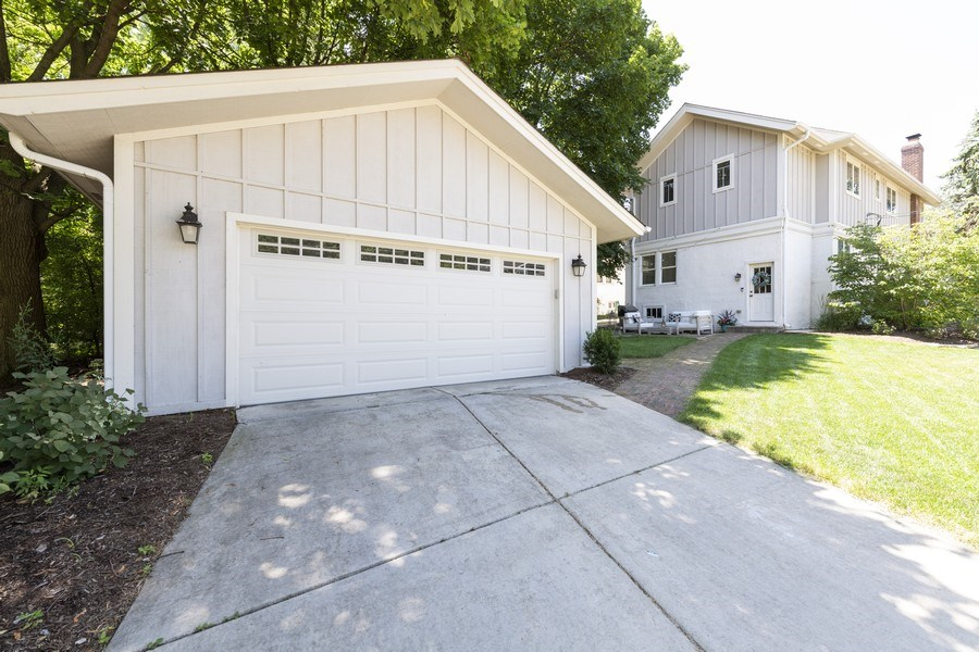 Real Estate Photography - 423 Taylor Avenue, Glen Ellyn, IL, 60137 - Detached 2-car garage