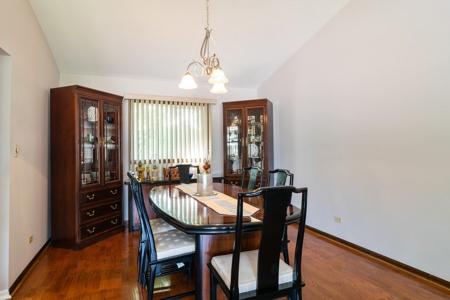 Real Estate Photography - 4105 Victoria Drive, Hoffman Estates, IL, 60192 - Dining Room