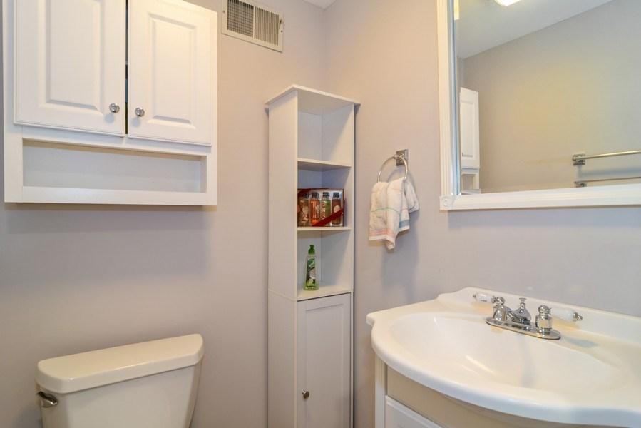 Real Estate Photography - 4105 Victoria Drive, Hoffman Estates, IL, 60192 - Half Bath