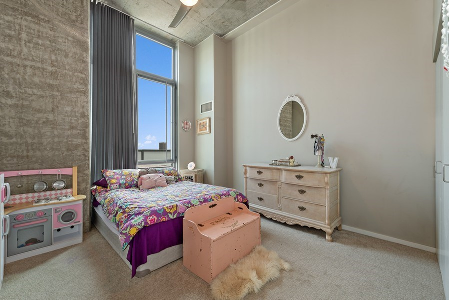 Real Estate Photography - 659 West Randolph St, 1806, Chicago, IL, 60661 - 3rd Bedroom