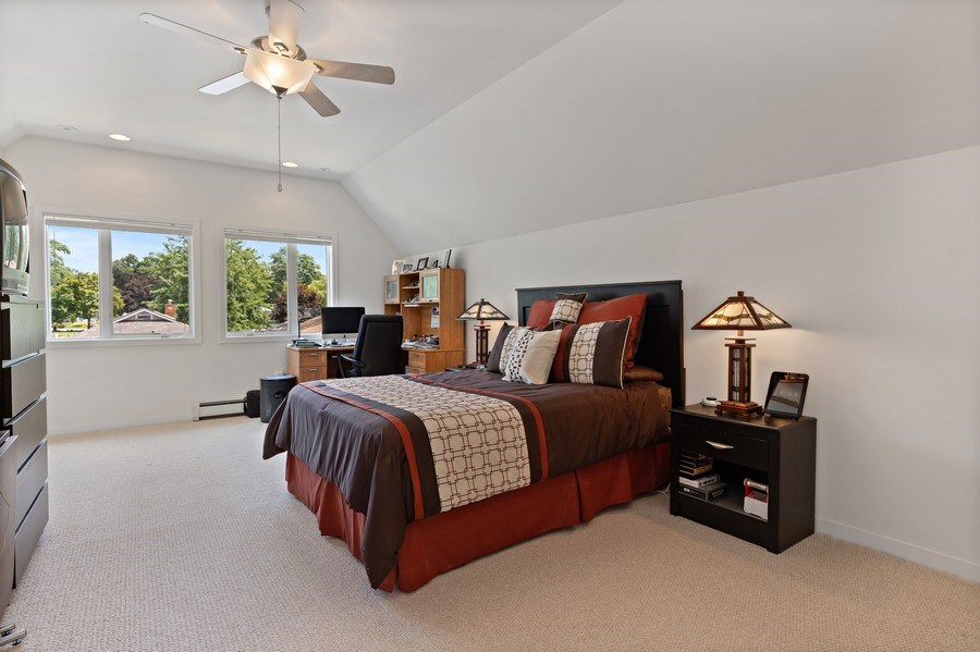 Real Estate Photography - 33842 North Lake Shore Dr, Gages Lake, IL, 60030 - Master Bedroom