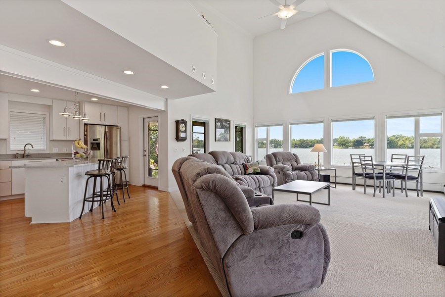 Real Estate Photography - 33842 North Lake Shore Dr, Gages Lake, IL, 60030 - Family Room