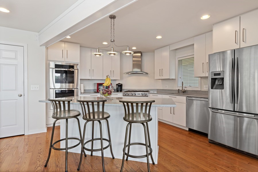 Real Estate Photography - 33842 North Lake Shore Dr, Gages Lake, IL, 60030 - Kitchen