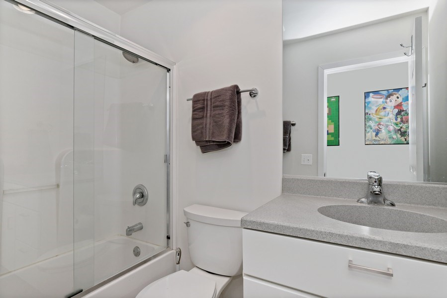 Real Estate Photography - 33842 North Lake Shore Dr, Gages Lake, IL, 60030 - Bathroom