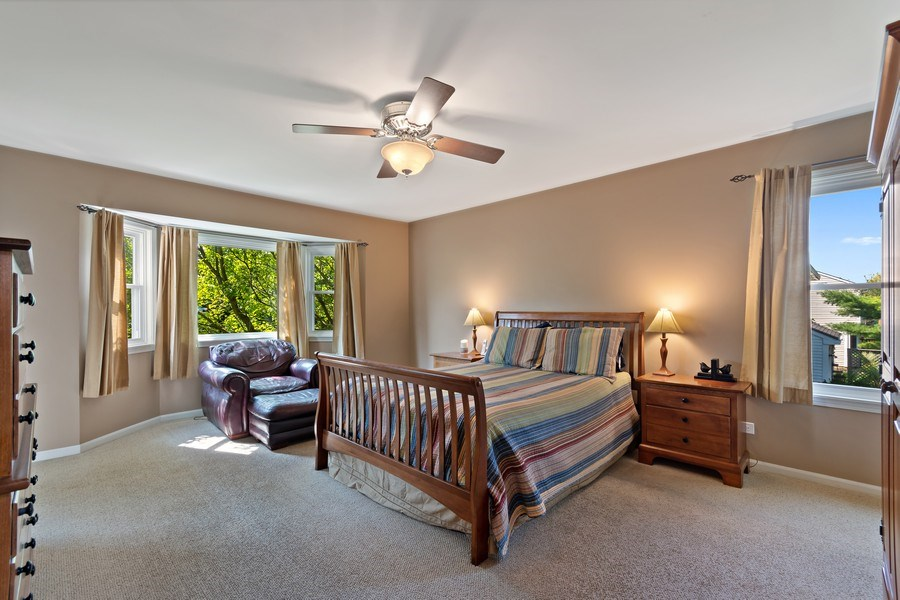 Real Estate Photography - 200 Aldrin Ave, Batavia, IL, 60510 - Master Bedroom