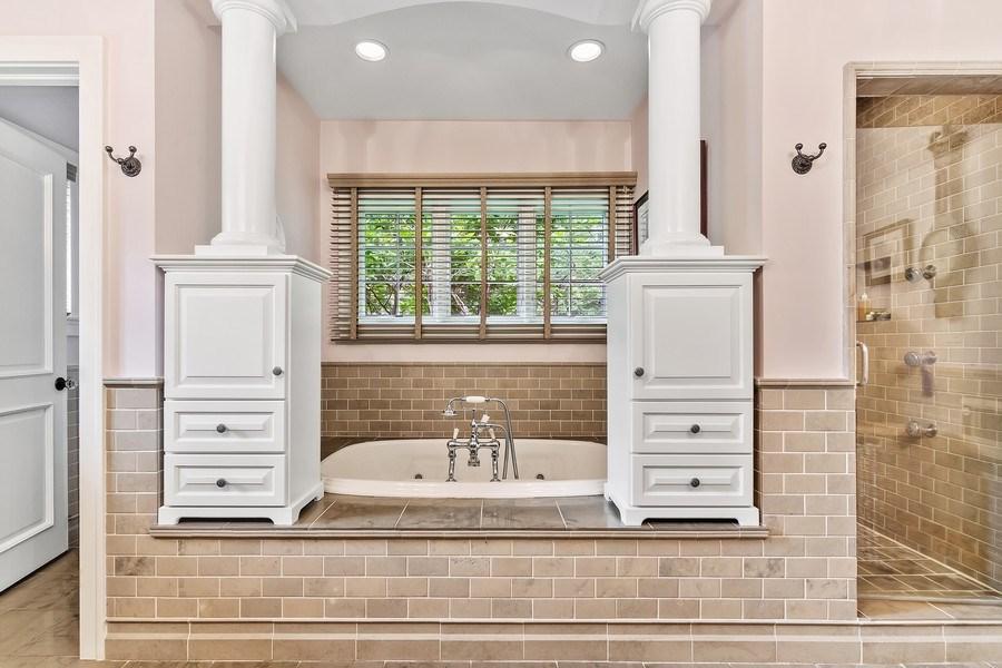 Real Estate Photography - 618 N. Scottsvale Lane, Arlington Heights, IL, 60004 - Master Bathroom