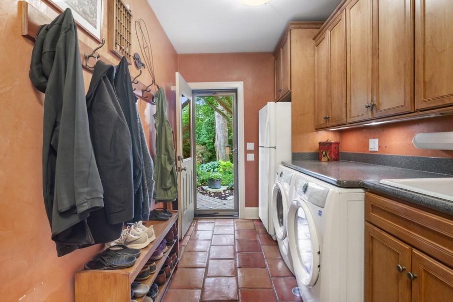 Real Estate Photography - 618 N. Scottsvale Lane, Arlington Heights, IL, 60004 - Laundry/Mud Room