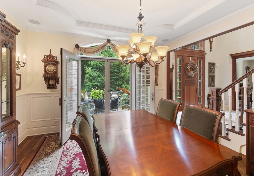 Real Estate Photography - 618 N. Scottsvale Lane, Arlington Heights, IL, 60004 - Dining Room