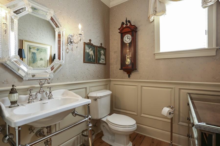 Real Estate Photography - 618 N. Scottsvale Lane, Arlington Heights, IL, 60004 - Main Level Powder Room
