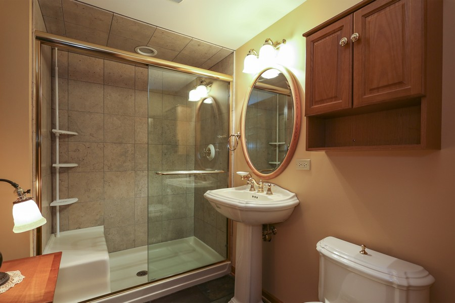 Real Estate Photography - 618 N. Scottsvale Lane, Arlington Heights, IL, 60004 - Basement Bath