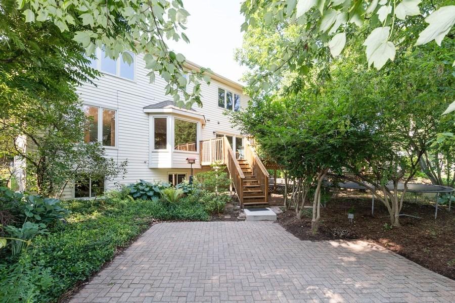 Real Estate Photography - 318 E. Sunnyside Avenue, Libertyville, IL, 60048 - Rear View
