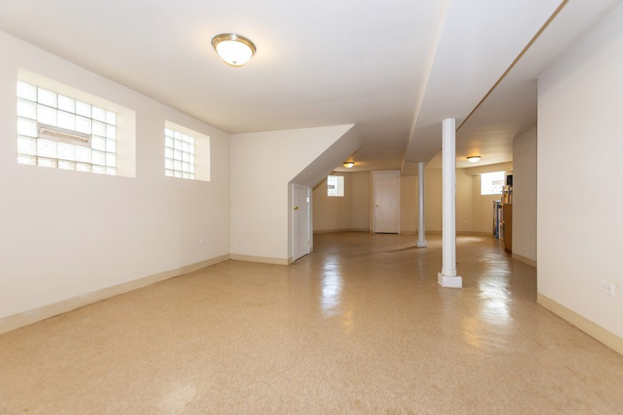 Real Estate Photography - 8018 South Calumet Ave, Chicago, IL, 60619 - Basement