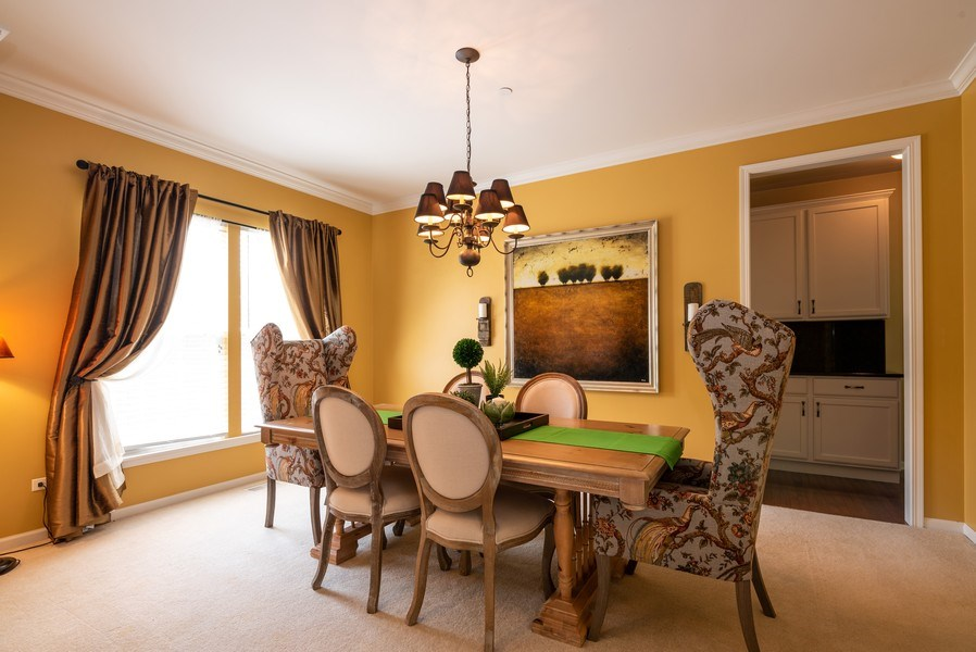 Real Estate Photography - 2662 Connolly Lane, West Dundee, IL, 60118 - Dining Room
