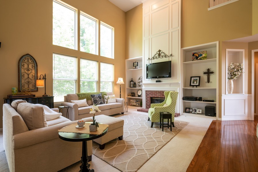 Real Estate Photography - 2662 Connolly Lane, West Dundee, IL, 60118 - Family Room