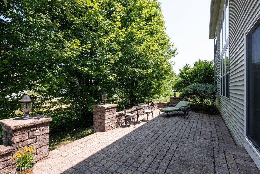 Real Estate Photography - 2662 Connolly Lane, West Dundee, IL, 60118 - Deck