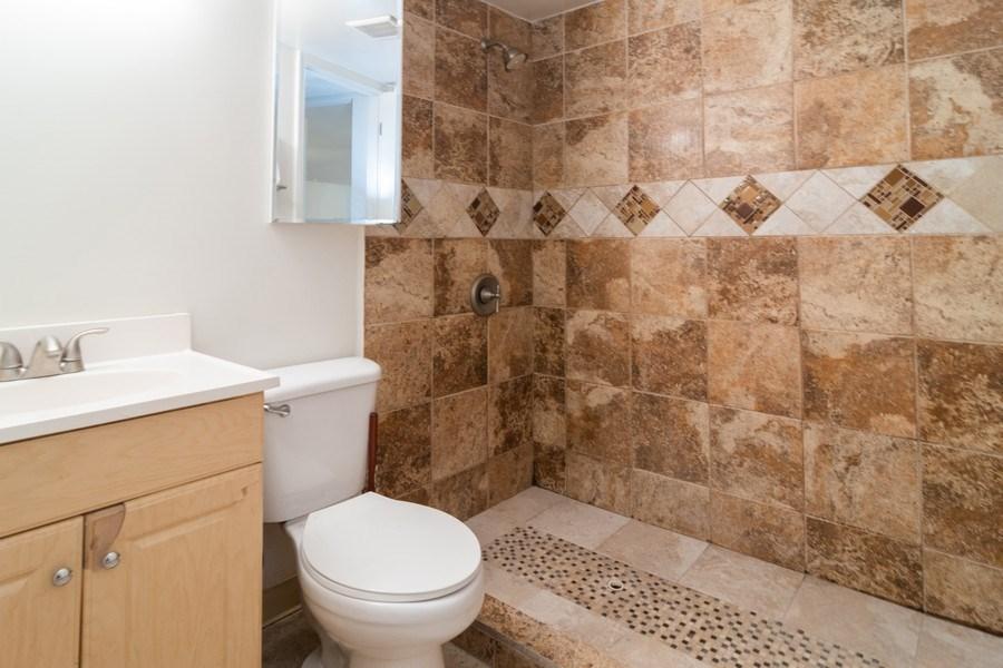 Real Estate Photography - 147 25TH Avenue, Bellwood, IL, 60104 - BASEMENT BATHROOM