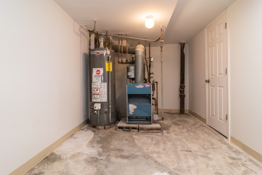 Real Estate Photography - 147 25TH Avenue, Bellwood, IL, 60104 - MECHANICAL ROOM