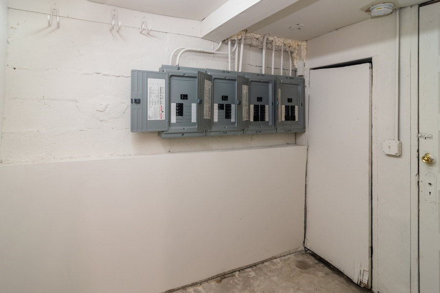 Real Estate Photography - 147 25TH Avenue, Bellwood, IL, 60104 - ELECTRICAL ROOM