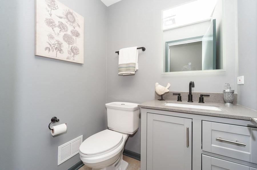 Real Estate Photography - 1051 Cobblestone Ct, Northbrook, IL, 60062 - Powder Room/ Half Bath