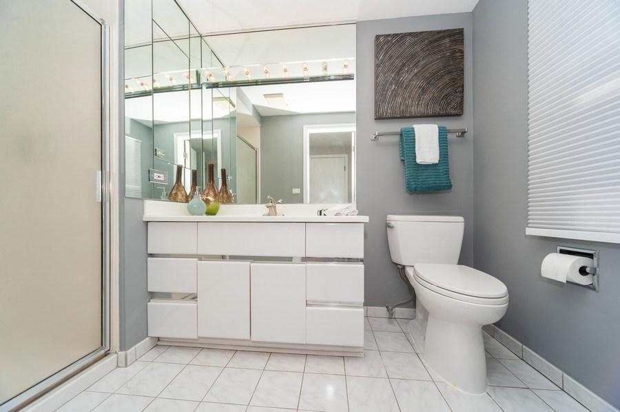 Real Estate Photography - 1051 Cobblestone Ct, Northbrook, IL, 60062 - Master Bath