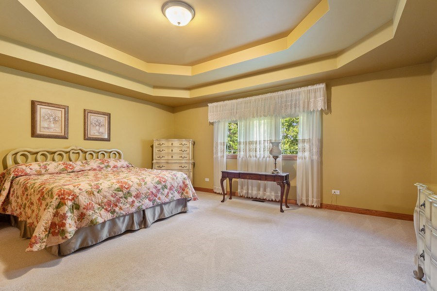 Real Estate Photography - 20231 Brendan St, Frankfort, IL, 60423 - Master Bedroom