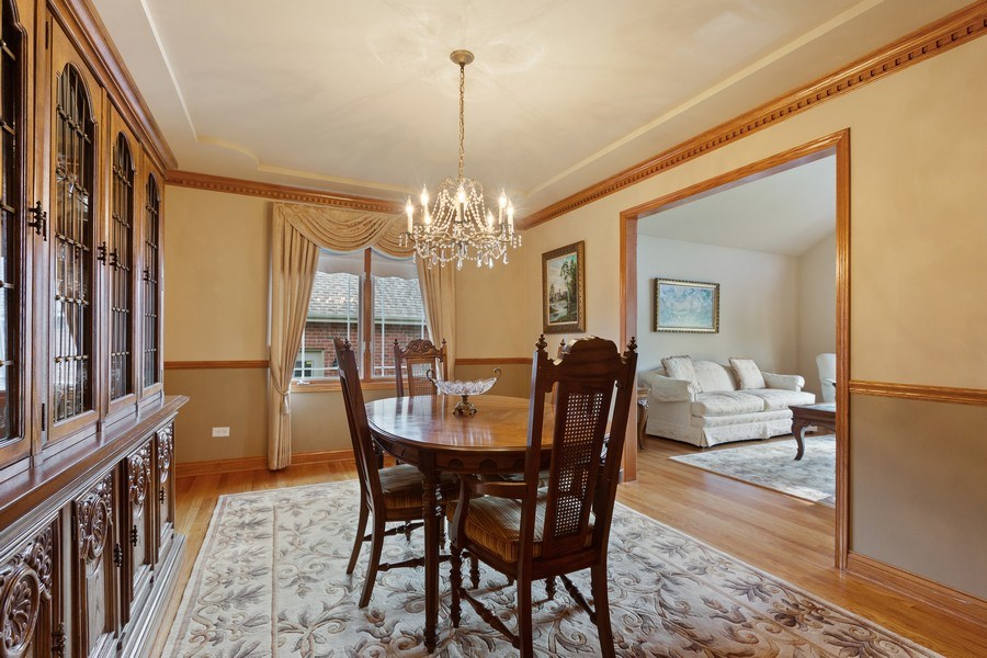Real Estate Photography - 20231 Brendan St, Frankfort, IL, 60423 - Dining Room