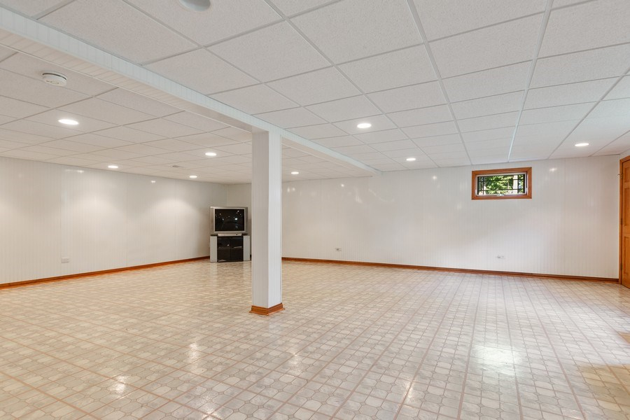 Real Estate Photography - 20231 Brendan St, Frankfort, IL, 60423 - Basement