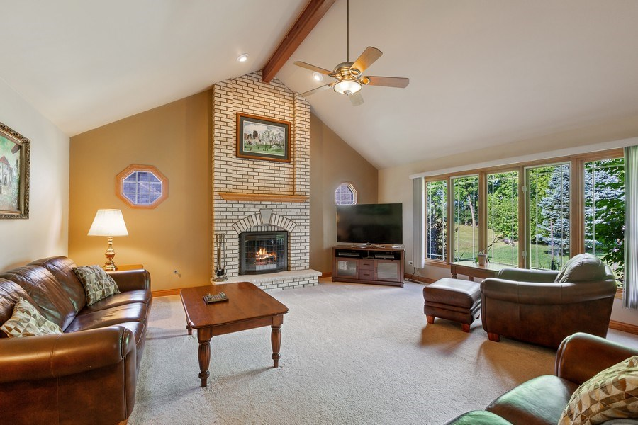 Real Estate Photography - 20231 Brendan St, Frankfort, IL, 60423 - Family Room