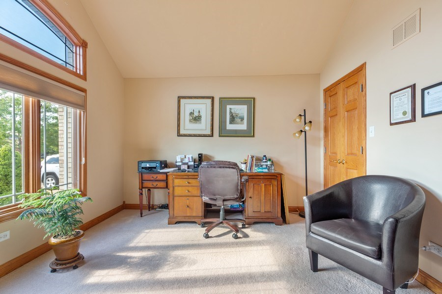 Real Estate Photography - 20231 Brendan St, Frankfort, IL, 60423 - Office