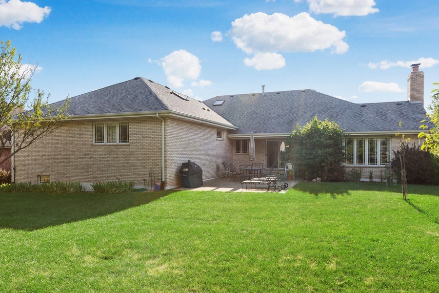 Real Estate Photography - 20231 Brendan St, Frankfort, IL, 60423 - Rear View
