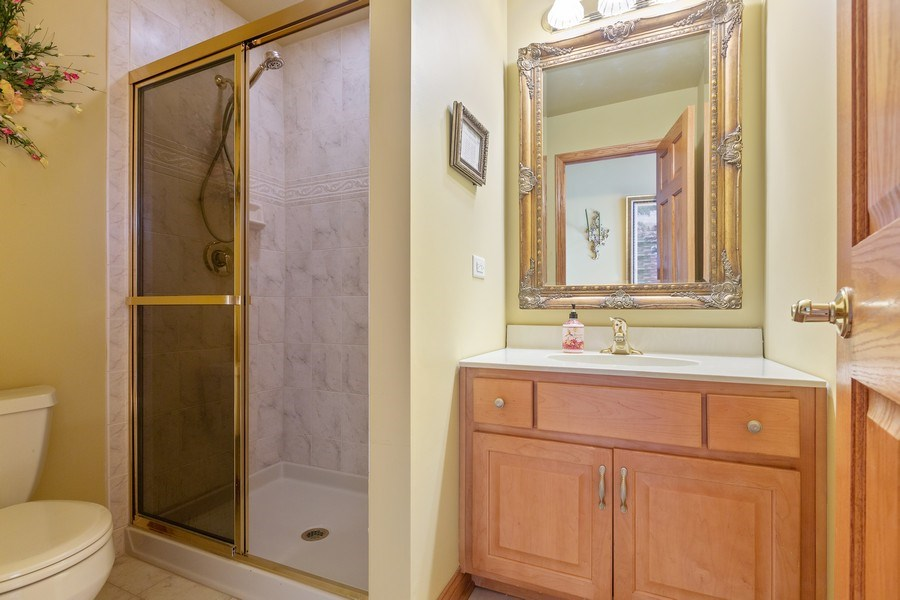 Real Estate Photography - 20231 Brendan St, Frankfort, IL, 60423 - Bathroom