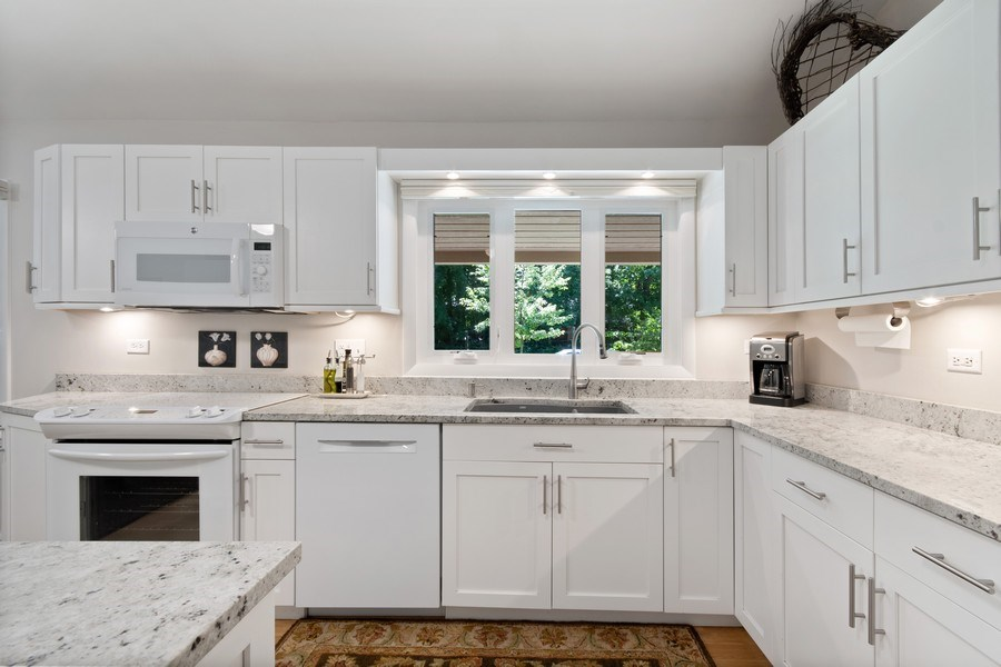 Real Estate Photography - 941 Anne Road, Naperville, IL, 60540 - Kitchen