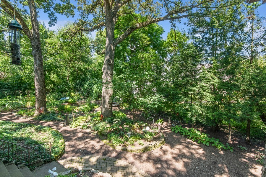 Real Estate Photography - 941 Anne Road, Naperville, IL, 60540 - Peaceful perenial gardens & a butterfly refuge