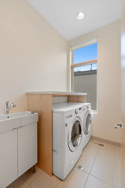 Real Estate Photography - 650 East Oakwood Blvd, Chicago, IL, 60653 - 2nd level Laundry Room