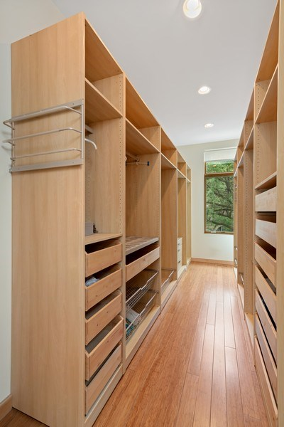 Real Estate Photography - 650 East Oakwood Blvd, Chicago, IL, 60653 - Master Bedroom Walk In Closet
