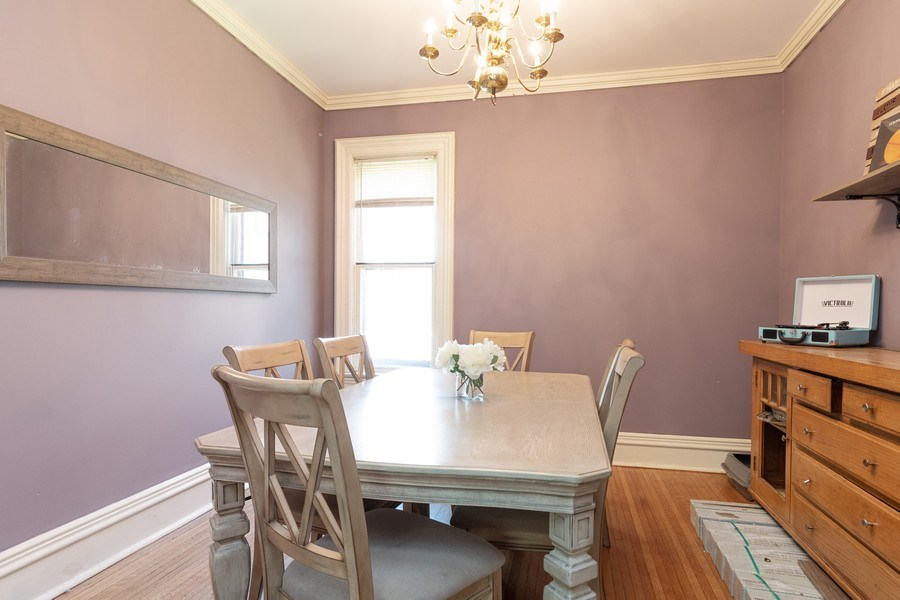 Real Estate Photography - 240 South Lincoln Ave, Aurora, IL, 60505 - Dining Room